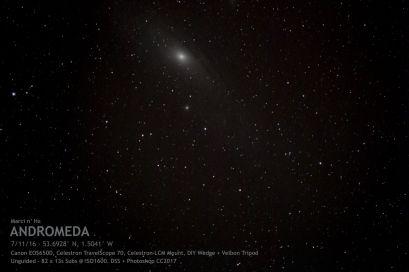 M31 - The Andromeda Galaxy.